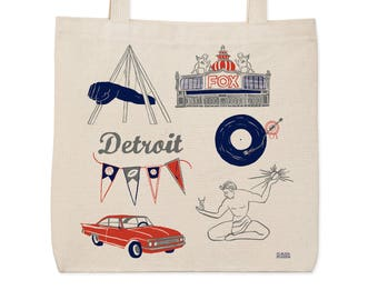 Detroit Everyday Tote
