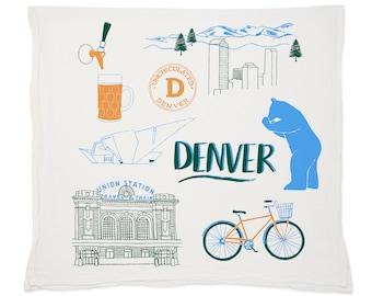 Denver Tea Towel