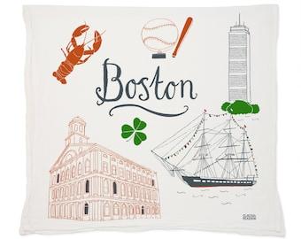 Boston Tea Towel