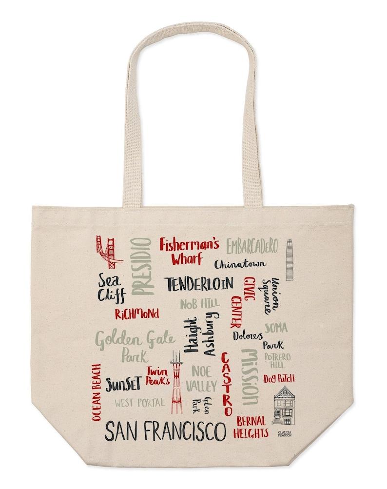 San Francisco Districts Market Tote
