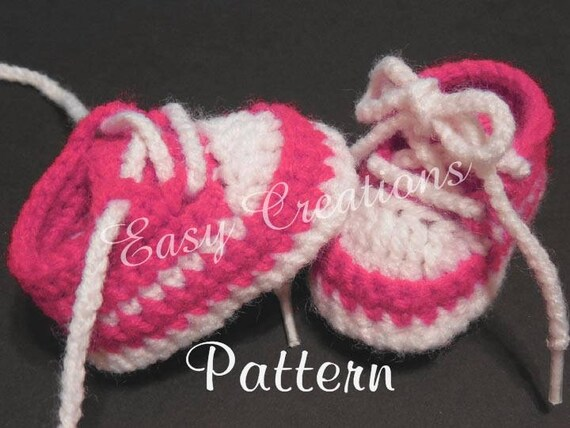 Crochet Pattern Tennis Shoes 18 Dolls Doll Clothes Etsy
