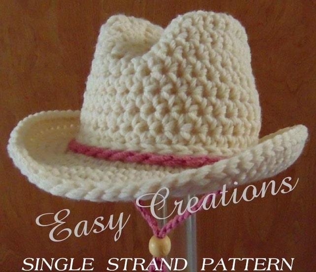 Imgenes De Free Pattern Crochet Baby Cowboy Hat