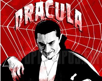 Dracula Bela Legosi 11x17 Digital Print
