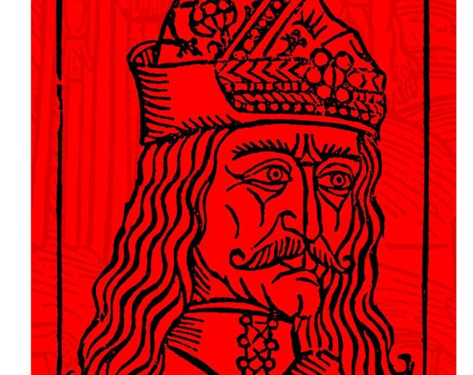 Vlad the Impaler Digital Print