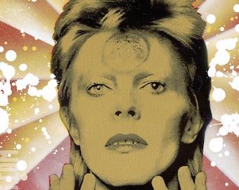 Cosmic Bowie 11x14 Digital Print