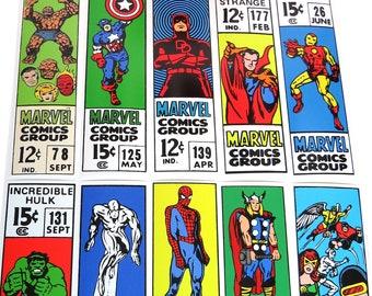 Marvel Cornerbox 4.5x15 Print Set
