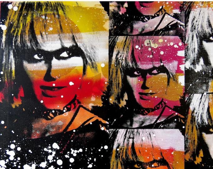 Blade Runner Pris 20x24 Screenprinted Wall Art