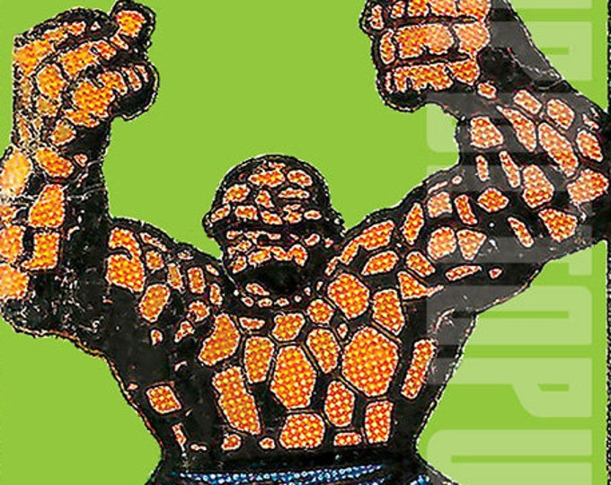 Silver Age Fantastic Four Cornerbox Digital Print