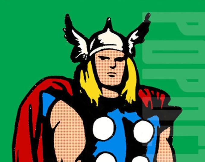 Marvel Comics Silver Age Thor Cornerbox Digital Print