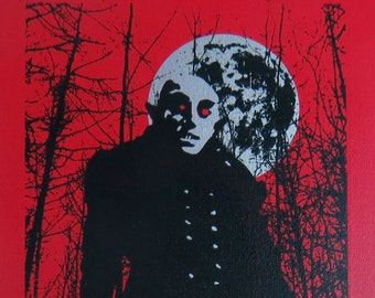 Nosferatu 10x20 Screenprinted Wall Art