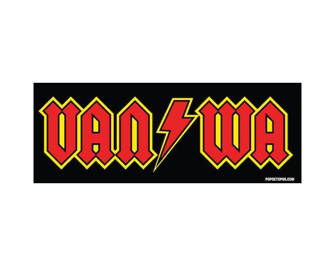 Vancouver Washington Van/Wa 3x8 Vinyl Sticker