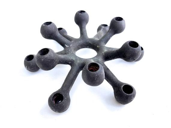 Dansk Spider Candle Holder Cast Iron Jens Quistgaard Design Dansk Designs Denmark Tiny Taper Candle Holder Atomic Design