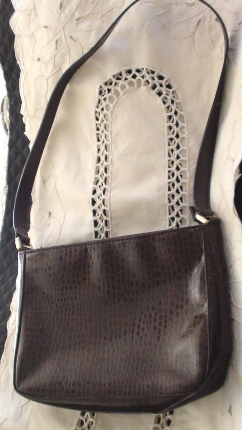 ac97b28bcc Shoulder bag Excellent condition Brand Name Kathy Ireland faux Reptile  Patent L... Shoulder bag Excellent condition Brand Name Kathy Ireland faux  Reptile ...