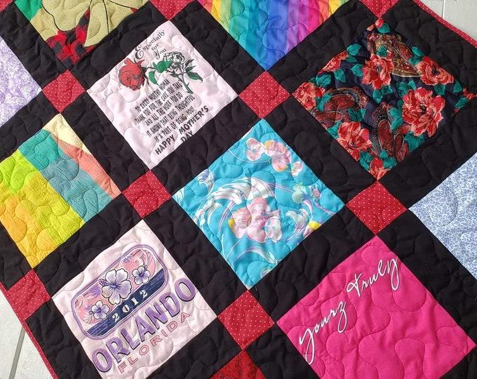 12 Block T-Shirt Quilt