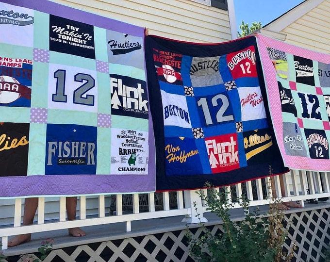 9 Block TShirt Quilt