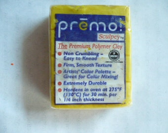 premo! Sculpey, Polymer Clay Block, 56 grams, 1.97 oz, Never Used, Original Packaging, Polymer Clay Supplies, Fimo, Sculpey