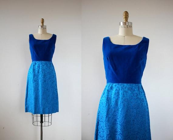 vintage 1960s dress / 60s party dress / 60s royal