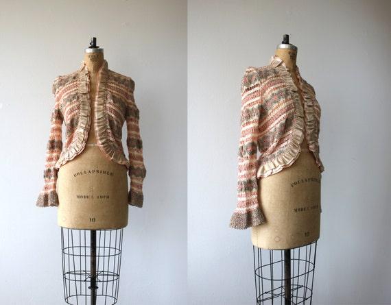 1970s vintage sweater / 70s pat richards sweater /
