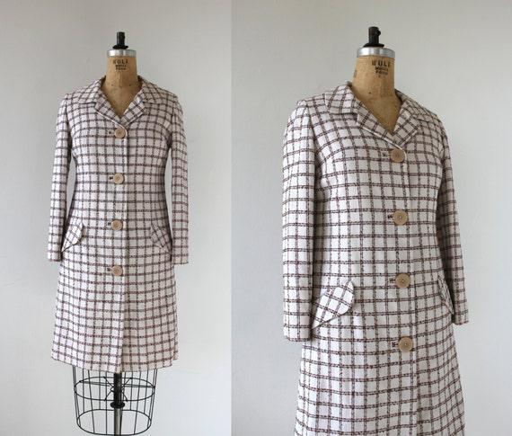 vintage 1960s coat / 60s light weight spring jacke
