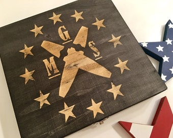 Custom Cigar Box - Groomsman Gift, Groomsmen Gifts, Engraved Cigar Box - 10 Stain Options - Smoke Box, For Dad, Father's Day, Best Man Gift