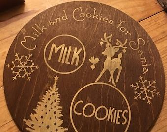 Milk and Cookies Plate