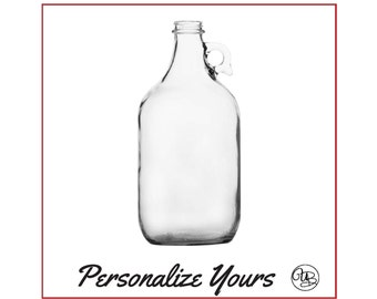 Custom Beer Growler - 64 oz - Personalize Yours