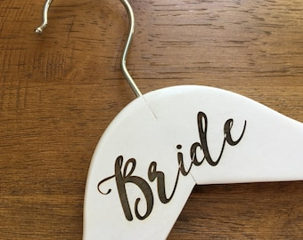 Bride Hangers - Wooden, Choose Your Hanger Style