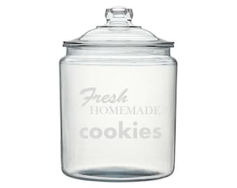 Fresh Homemade Cookies Cookie Jar - Choose From 2 Different Sizes
