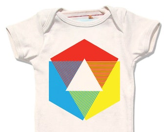 Color Wheel Shirt Lemon Yellow Short Sleeve T Shirt For Baby Etsy