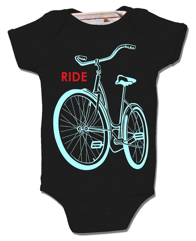a85d6c91ef7 VERKOOP Baby fiets Onesie Unisex babykleding rijden een | Etsy