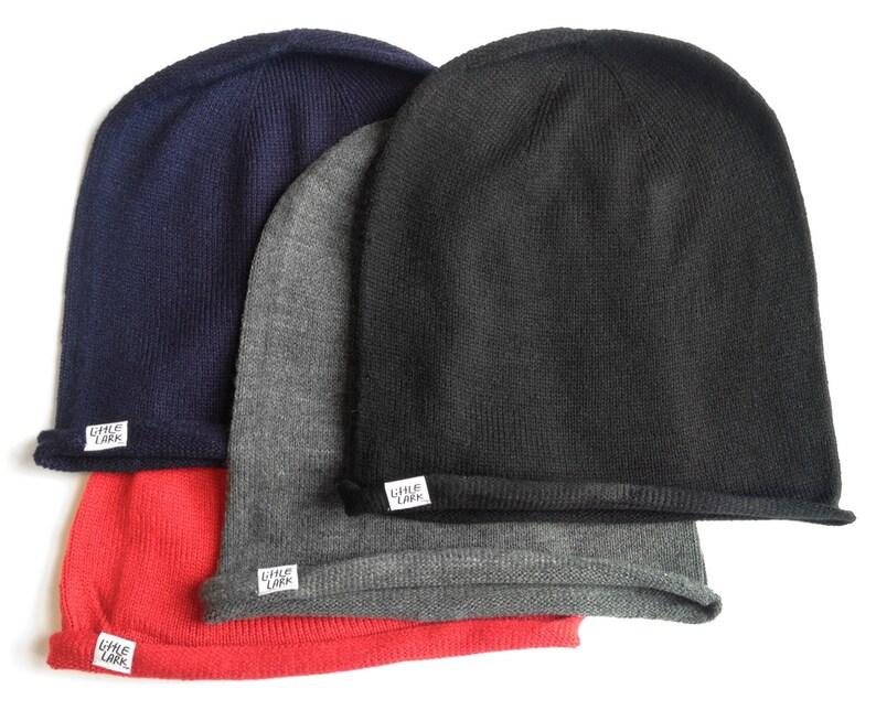 Warm Black Foil Slouchy hat fun winter weather hat slouch style Snow Hat Warm Hat Knit Hat Sale Hat Navy Sale Hat Ski Hat beanie