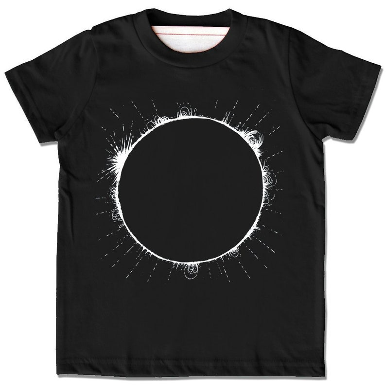 Kids Solar Eclipse Shirt Total Solar Eclipse Tshirt Totality Etsy