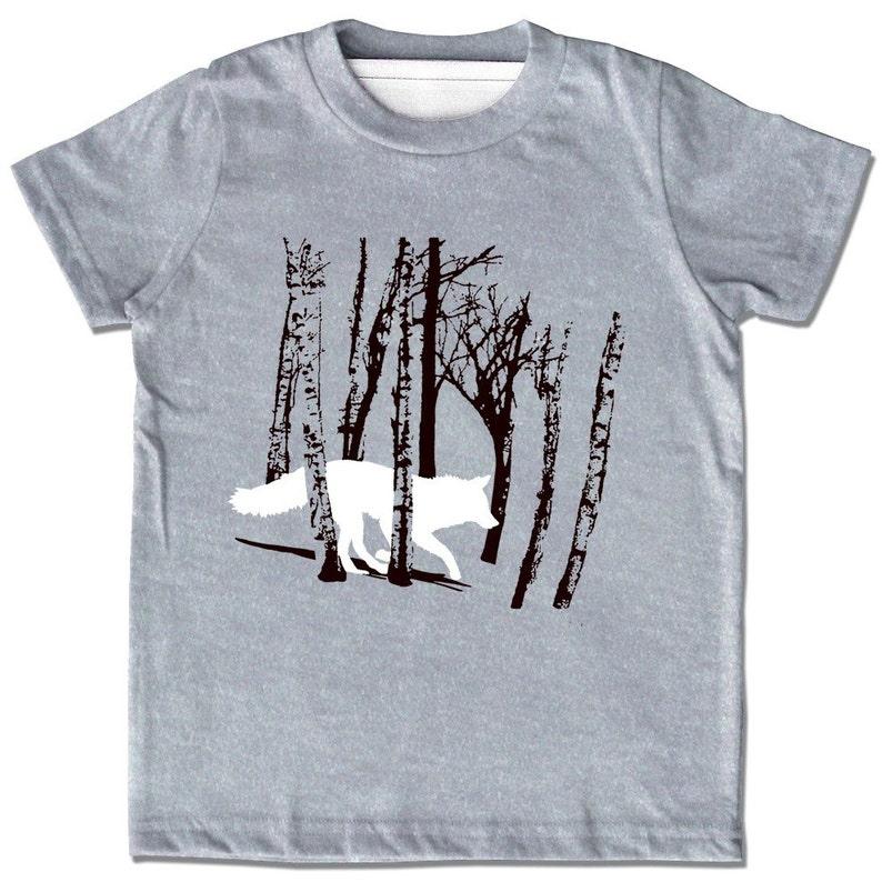 357d122a Kids Fox Shirt fox t-shirts Wolf Shirt fox t shirt Wolf | Etsy