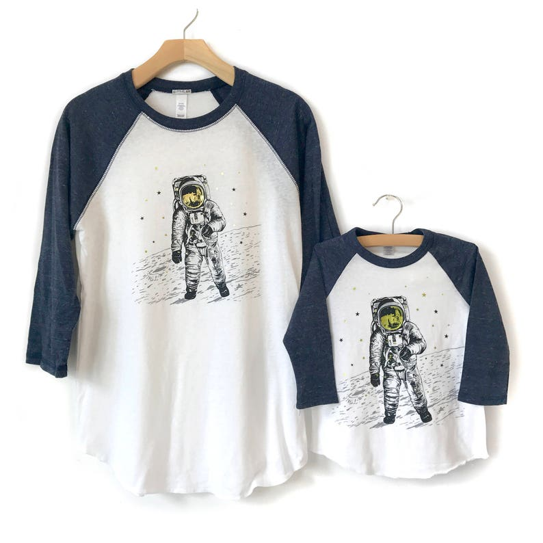 7e36592d Dad and Son Matching Shirts Matching Dad Space shirts   Etsy