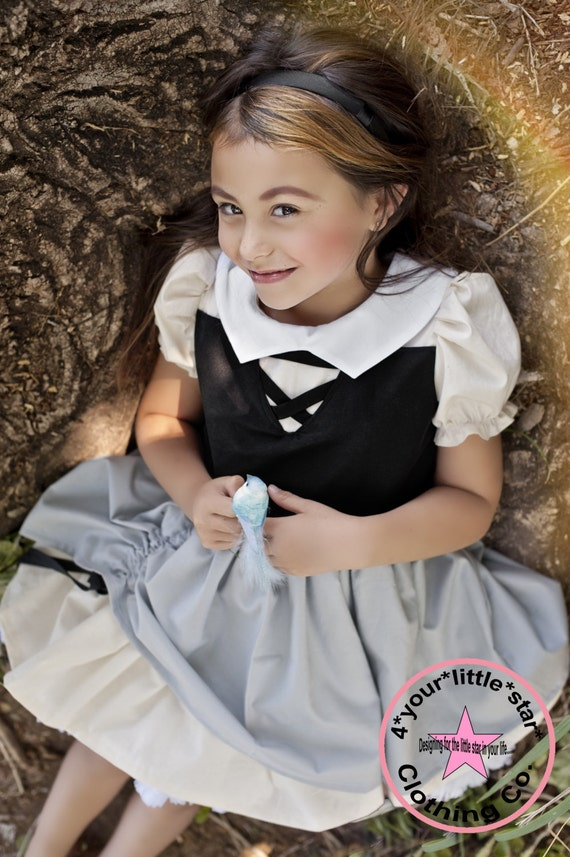 Inspired Princess Sleeping Beauty Briar Rose Character Dress for Infants, Toddlers, Girls Sizes 0-3 mos to Size 10