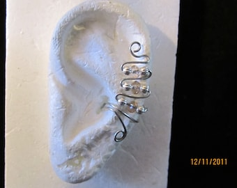 Upper Climbing Ear Cuff Cuffs  Earring..No Piercing Required