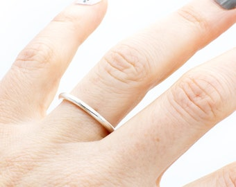 GET 1 FREE WITH Five Stacking silver rings  hammered and twisted wire stacking rings in shiny silver  simple silver stacking ring Handmade