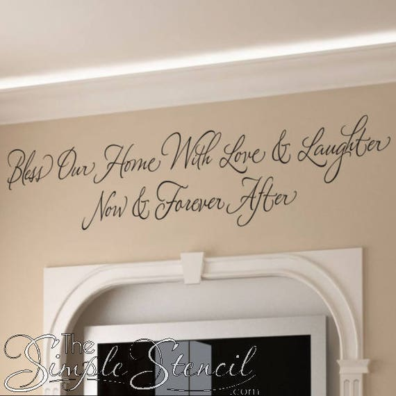 Living Room Wall Decal Wall Quote Decal Wall Quotes Etsy