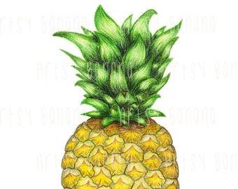 Pineapple Power - Artsy Banana