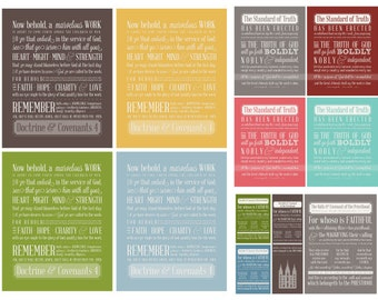 LDS Missionary - Subway Art - Instant Download