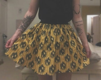 92de7877fa98b Harry Potter Inspired House Skirt Adult Wizard Skirt - choose your house  and length! Ravenclaw Hufflepuff Gryffindor Slytherin Skirts