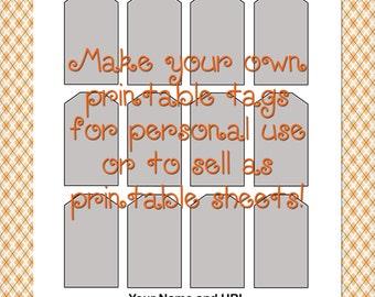 Printable Tags Etsy
