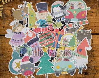 Christmas Ephemera #1 Paper Goods