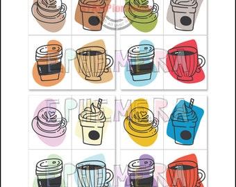 Coffee Tiles - Ephemera Paper Goods