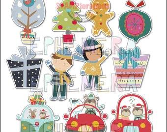 Christmas Ephemera #2 Paper Goods