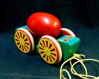 BRIO Tumbling EGG Pull Toy