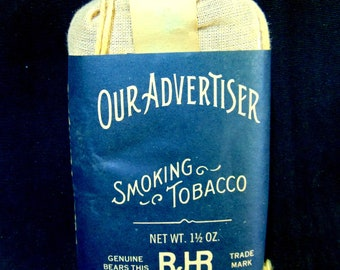 OUR ADVERTISER Smoking Tobacco Pocket Pouch by R J Reynolds Tobacco