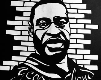 WE CAN'T BREATHE series - George Floyd Commemorative Card -  Pay It Forward