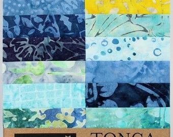 93c36e15e5 Timeless Treasures Batik Tonga Treats - Angelfish - (20) 2.5