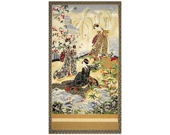 Teppiche & Flachgewebe Antiquitäten & Kunst Chinesischer Wandbehang Auf Seide Gestickt 22 X 44 Cm Tempel